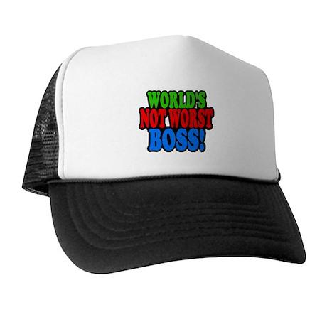 Worlds Not Worst Boss Trucker Hat