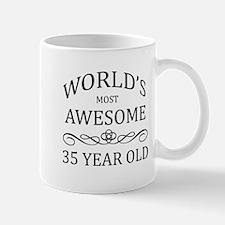 World's Most Awesome 35 Year Old Mug