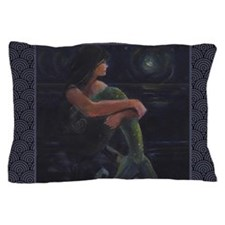 Mermaid and the Moon Pillow Case