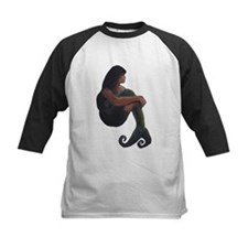 Mermaid and the Moon Baseball Jersey