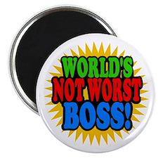 Worlds Not Worst Boss Magnets