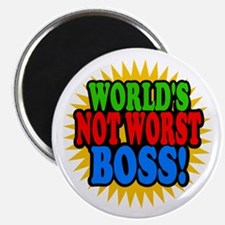 Worlds Not Worst Boss Magnets