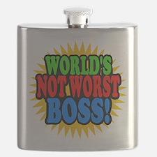 Worlds Not Worst Boss Flask