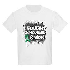 Liver Cancer Fought Won T-Shirt