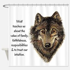 Wolf Totem Animal Guide Watercolor Nature Art Show