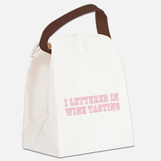 I LETTERED IN... Canvas Lunch Bag