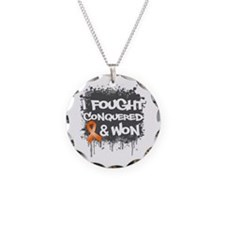 Leukemia I Fought and Won Necklace