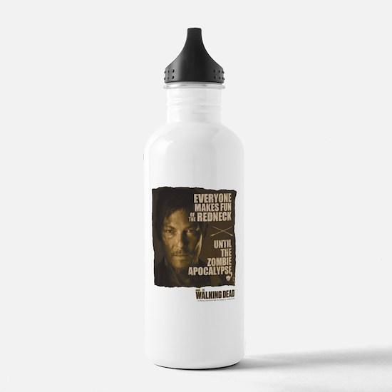 Walking Dead Redneck Sports Water Bottle