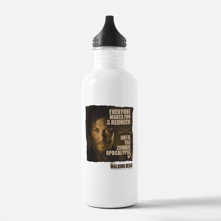 Walking Dead Redneck Water Bottle