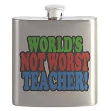 Worlds Not Worst Teacher Flask