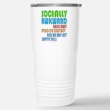 Socially Awkward Text Travel Mug