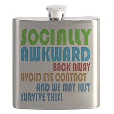 Socially Awkward Text Flask