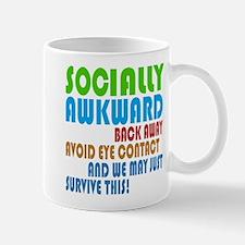 Socially Awkward Text Mugs