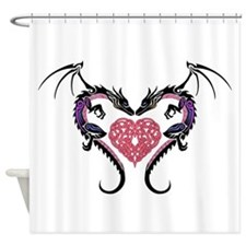 Dragon Heart-3 Shower Curtain