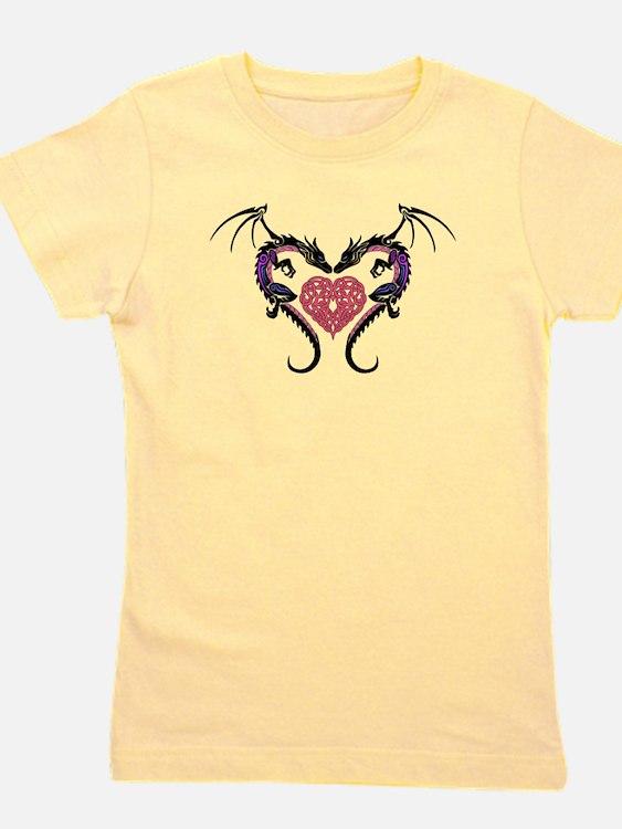 Dragon Heart-3 Girl's Tee