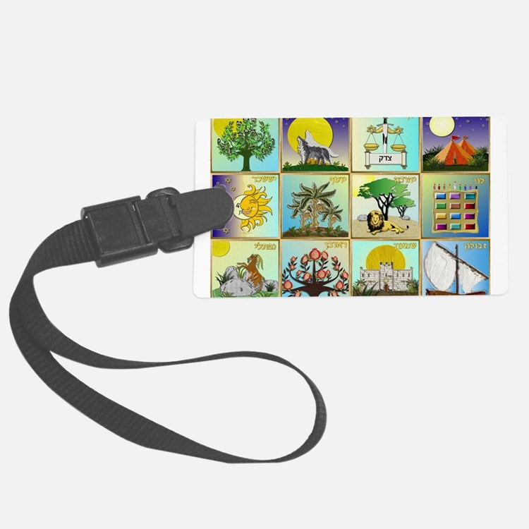 12 Tribes Of Israel Luggage Tag