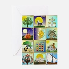 12 Tribes Of Israel Greeting Cards