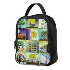 12 Tribes Of Israel Neoprene Lunch Bag