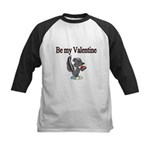 Be My Valentine with Skunk Baseball Jersey