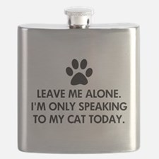 Leave me alone today cat Flask