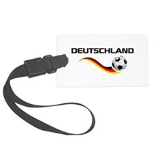Soccer Deutschland 1 Luggage Tag