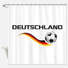 Soccer Deutschland 1 Shower Curtain