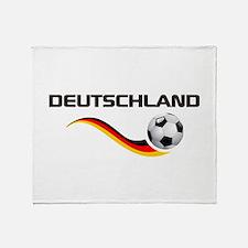 Soccer Deutschland 1 Throw Blanket