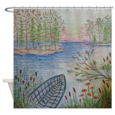 Beautiful scene shower curtain Shower Curtain