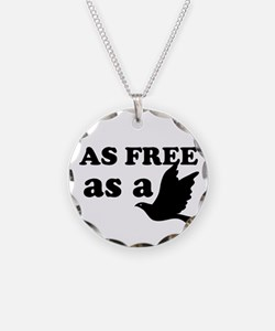 As Free as a Bird Necklace