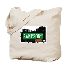 Sampson Av, Bronx, NYC  Tote Bag