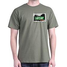 Sampson Av, Bronx, NYC  T-Shirt