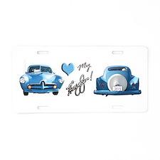 Torquoisehjfrt.Png Aluminum License Plate