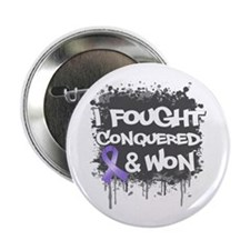 "Hodgkins Disease I Fought Won 2.25"" Button"