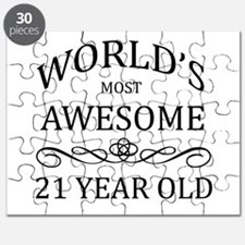World's Most Awesome 21 Year Old Puzzle