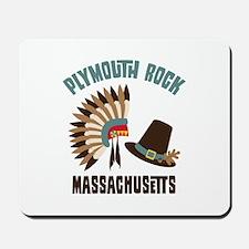 Plymouth Rock Mousepad