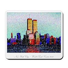 World Trade Center, original art : mouse pad