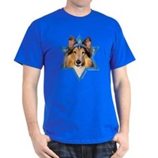 Hanukkah Star of David - Collie T-Shirt