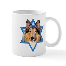 Hanukkah Star of David - Collie Mug