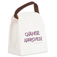CHANGE APPROVED! Canvas Lunch Bag