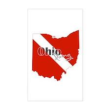 Ohio Diver Decal