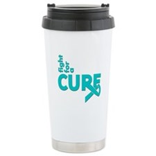 PCOS Fight For A Cure Travel Mug