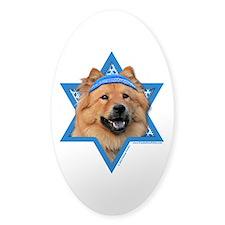 Hanukkah Star of David - Chow Decal