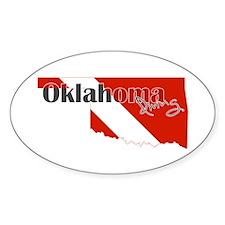 Oklahoma Diver Decal