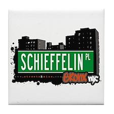 Schieffelin Pl, Bronx, NYC  Tile Coaster