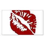 Kiss My Rectangle Sticker