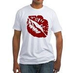 Kiss My Fitted T-Shirt