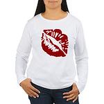 Kiss My Women's Long Sleeve T-Shirt