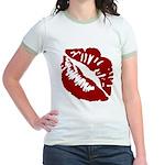 Kiss My Jr. Ringer T-Shirt
