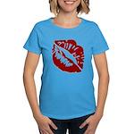 Kiss My Women's Dark T-Shirt