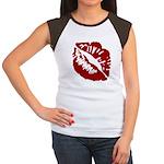 Kiss My Women's Cap Sleeve T-Shirt